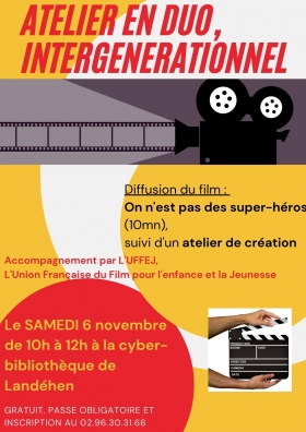 Animation Jeunes  mois du film documentaire